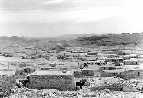 Terlingua Texas in 1936, NPS photo by
